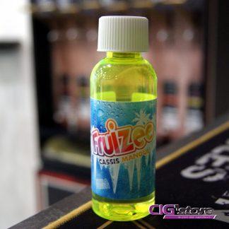 Cassis Mangue Fruizee 50 ML 0 MG Le Cassis Mangue Fruizeeest une délicieuse combinaison du goût acidulé du cassis et de la saveur sucrée d'une mangue assortie à l'effet…