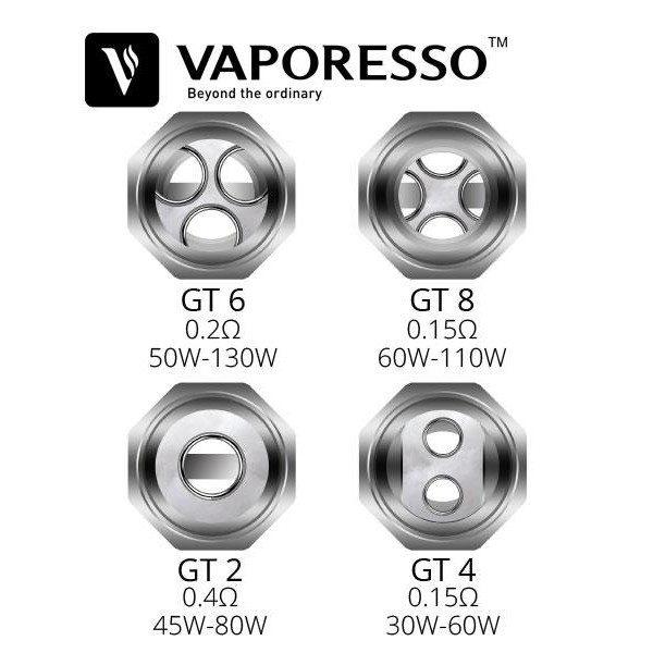 Resistance revenger GT2 0,4 ohm de Vaporesso