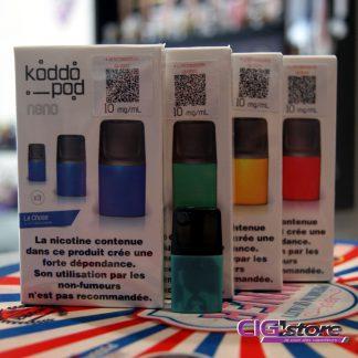 Pod (pack de 3) pour koddo - French Liquide Pod disponibles pour le Koddo : La Chose : Caramel au beurre salé, vanille, café, noisette et noix de pécan . Fruit…