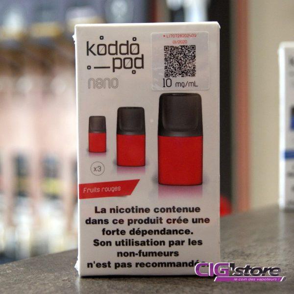 Pod (pack de 3) pour koddo - French Liquide