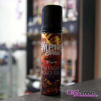 Mango Blackcurrant 50ML de Vape Empire Quand les deux meilleurs liquides de Vape Empire se mélangent cela donne le Empire Brew Mango Black currant. De la mangue mure…