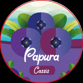 REFILL-ISLAND - PAPURA Un délicieux liquide au bon goût de cassis frais. Le jus de l'été !