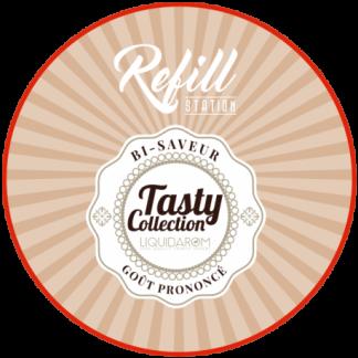 Tasty Collection CREME CARAMEL Délicieusement régressif et incroyablement gourmand, cet e-liquide Crème Caramel va ravir les papilles des gourmands assumés… et convaincre celles des autres !…